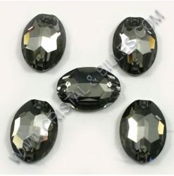 3210 16x11mm crystal Silver...
