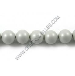 Perles cristal 04mm, Gris...