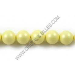 Perles cristal 04mm, Jaune...
